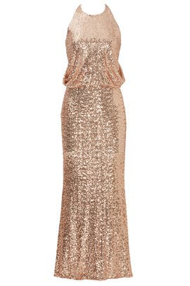 Blush Maria Gown by Badgley Mischka