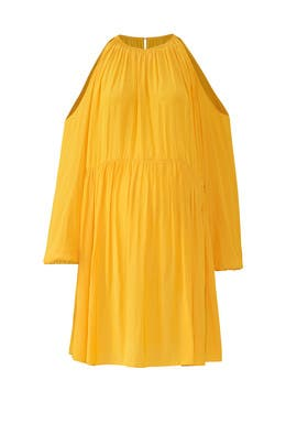 Yellow Heather Maternity Dress by FOR 2 by Ramy Brook