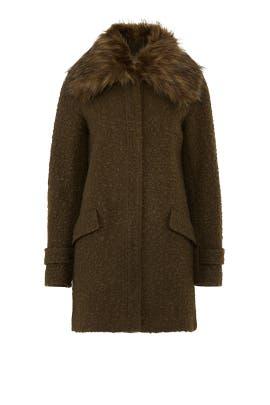 Faux Fur Ludwig Coat by John + Jenn