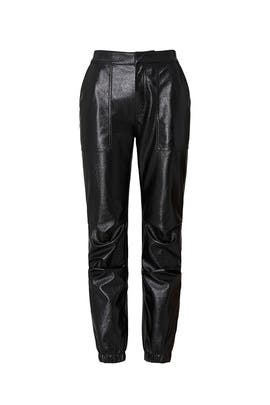 Faux Leather Findley Pants by Joie
