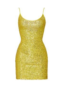 Sequin Mini Dress by NAEEM KHAN