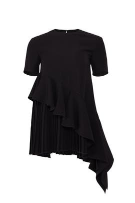 Pleated Ruffles Top by ADEAM