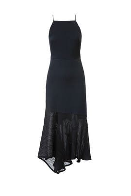 Black Plisse Cocktail Dress by Jason Wu Collection