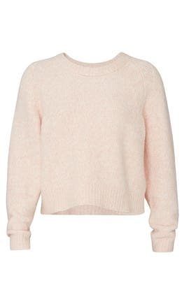 Marbled Boucle Pullover by La Vie Rebecca Taylor