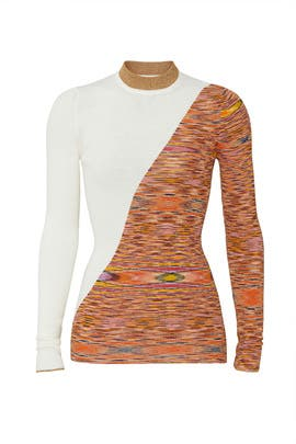 Printed Colorblock Sweater by Missoni
