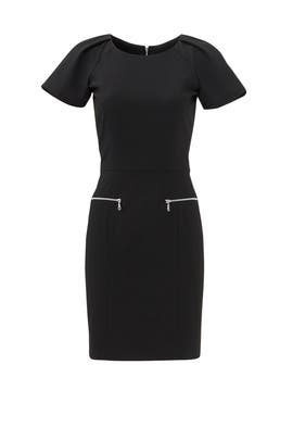 Black Thompson Dress by Of Mercer