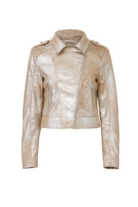 Rosida Faux Leather Jacket by Rino & Pelle