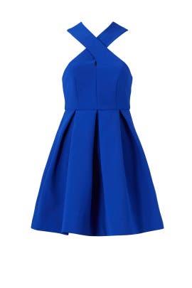 Blue Maverick Mini Dress by AQ/AQ
