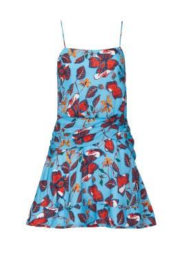 Twist Waist Cami Flounce Mini Dress by Derek Lam 10 Crosby