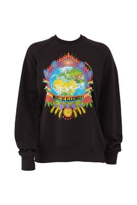 Black Earth Sweatshirt by Horn Please!