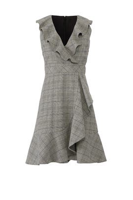 Mod Plaid Ruffle Dress by kate spade new york