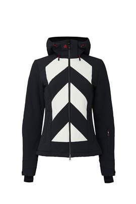 Stripe Tignes Jacket by Perfect Moment