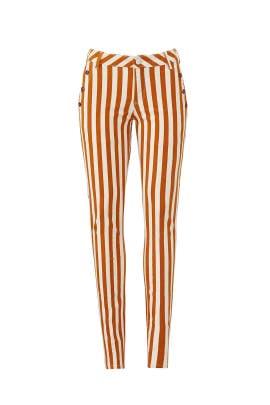 La Bohemienne Striped Pants by Scotch & Soda