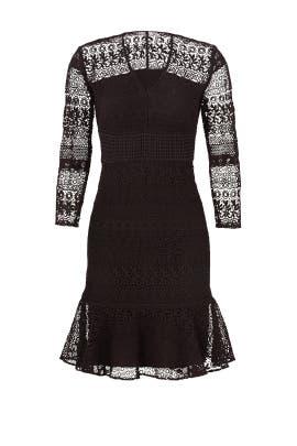 Black Aviva Dress by Shoshanna