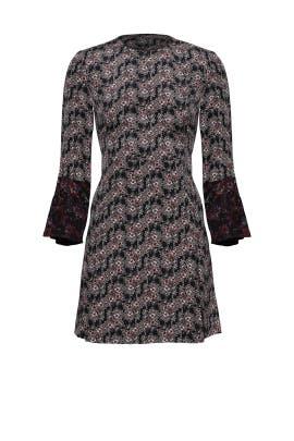 Foulard Floral Print Dress by Derek Lam 10 Crosby