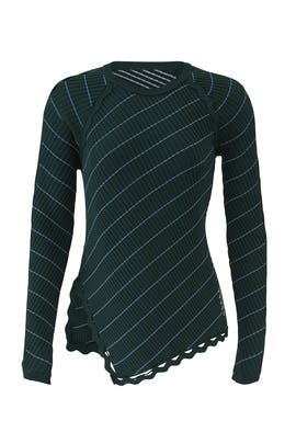 Zig Zag Trim Sweater by Jonathan Simkhai