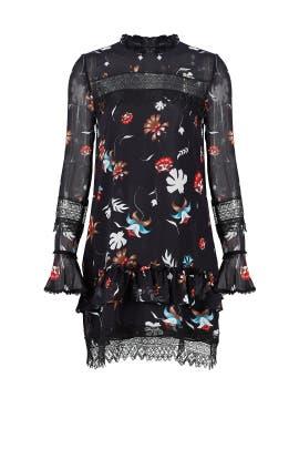 Whisper Floral Lace Dress by Nicholas