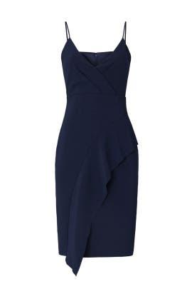 Navy Tayla Ruffle Dress by Parker