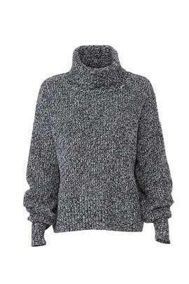 Marled Roll Neck Sweater by Sanctuary