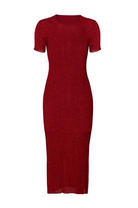 Red Marcel Dress by Tibi
