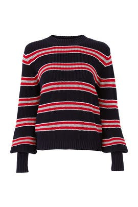 Defense Stripe Sweater by The Fifth Label