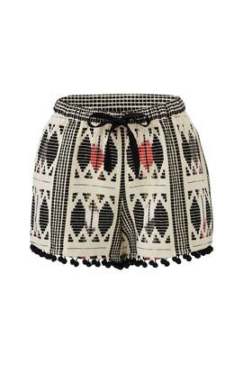 Abstract Nylah Shorts by Saylor
