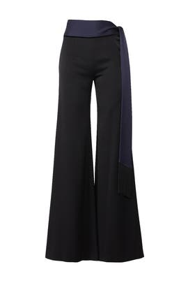 Fringed Sash Trousers by GALVAN