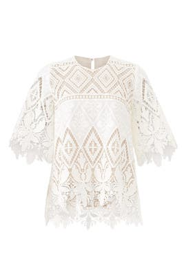 Lace Fawn Top by Hunter Bell