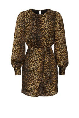 Leopard Robe Dress by The Kooples