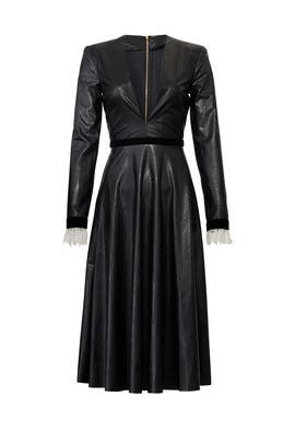 Faux Leather Midi Dress by Philosophy di Lorenzo Serafini