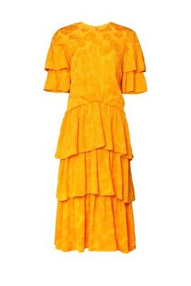 Printed Laura Dress by Rejina Pyo