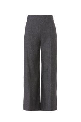 Herringbone Crop Pants by Rebecca Taylor