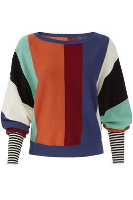 Multi Stripe Sweater by Slate & Willow