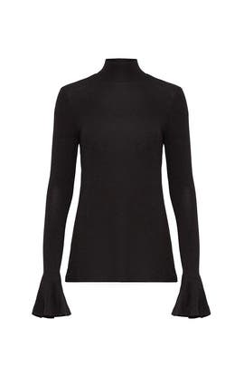 Black Heather Top by Badgley Mischka
