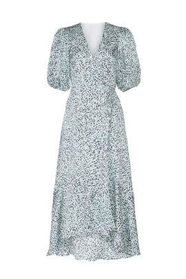 Easy Midi Wrap Dress by Club Monaco