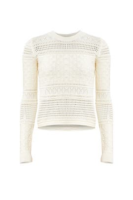 Ivory Pullover Sweater by Derek Lam 10 Crosby