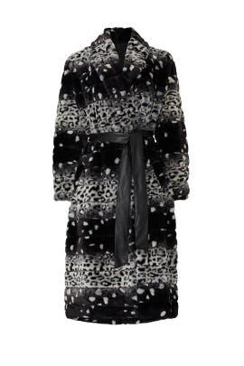 Kat Faux Fur Coat by Hutch