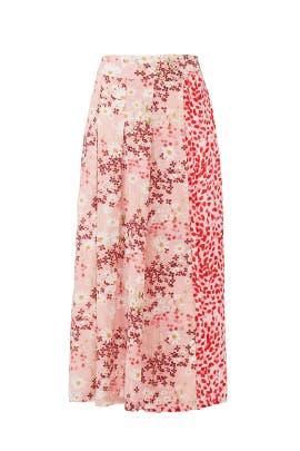 Sweet Meadow Kenzie Skirt by Mother of Pearl