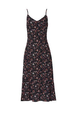 Sunfilled Tiered Midi Dress by Sanctuary