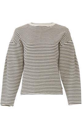 Striped Sweatshirt by sita murt