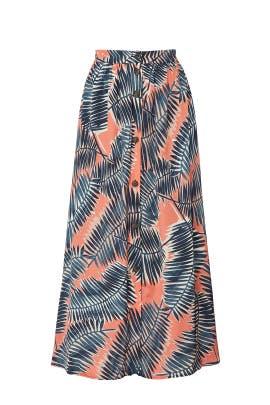Digital Print Skirt by sita murt