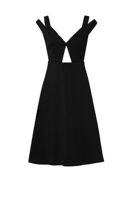Cutout Flare Dress by Carven