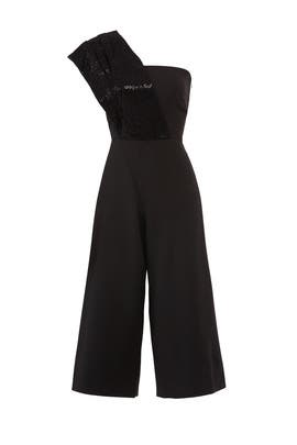 Zoie Sequin Jumpsuit by HANEY