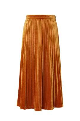 Clara Velvet Skirt by Just Female