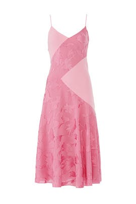 Pink Cami Midi Dress by Prabal Gurung