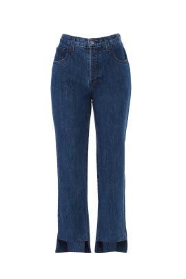 Wynne Crop Straight Jeans by J BRAND