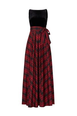 Plaid Gown by Lauren Ralph Lauren