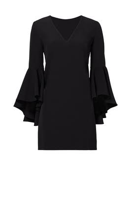 Black Nicole Dress by Milly