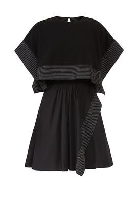 Poplin Crop Top Overlay Dress by 3.1 Phillip Lim