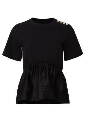 Pearl Shoulder T-Shirt by 3.1 Phillip Lim